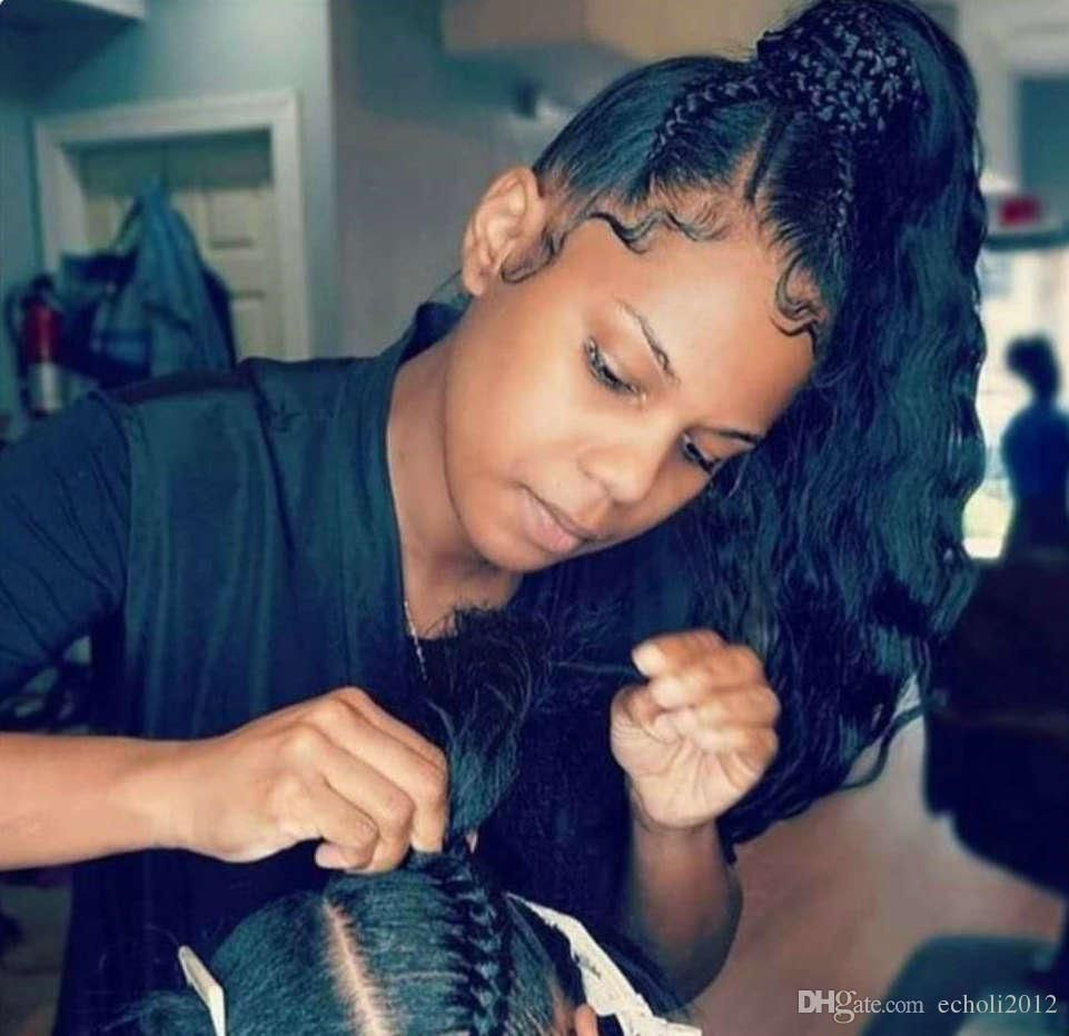 Hairstyles With Extensions For Black Hair Braids Boho Hair Beauty Weave Ponytail Hairstyles Braids For Black Hair