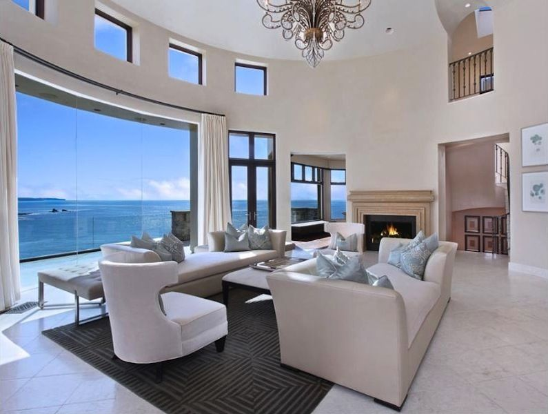 cool world most beautiful home living room | Beautiful luxury mansion in California: Most beautiful ...