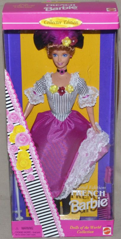 NIB French Barbie Doll of the World Collection 1996