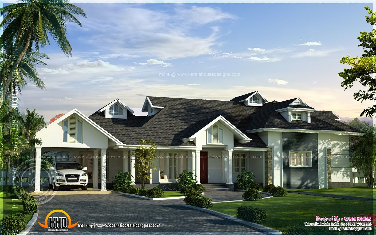Modern Nalukettu House Pictures