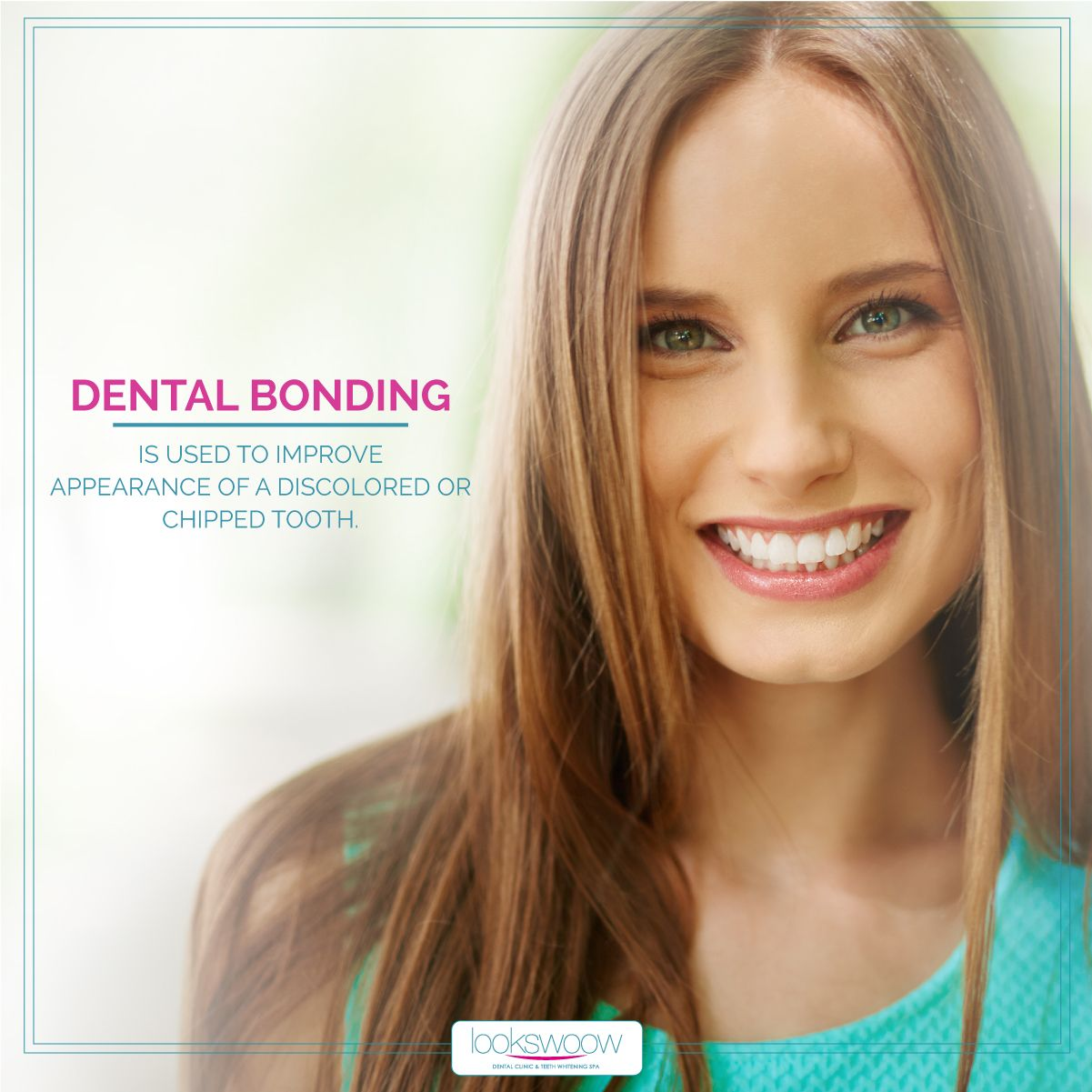 Have a chipped broken or stained tooth dental bonding