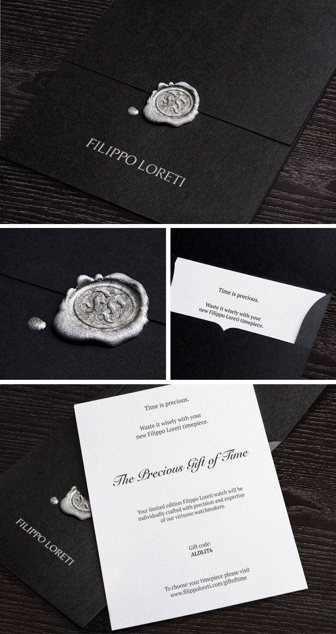 wedding invitations gifts%0A Filippo Loreti Christmas Gift Certificate