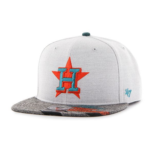 new product a679d 5d25a Houston Astros Armadillo Captain Gray 47 Brand Adjustable Hat