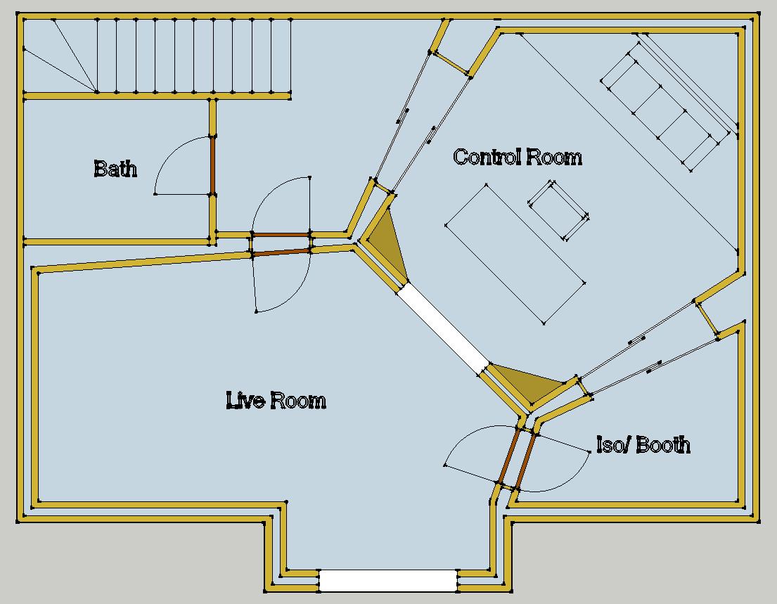 John sayers 39 recording studio design forum view topic for Pianificatore di layout di garage