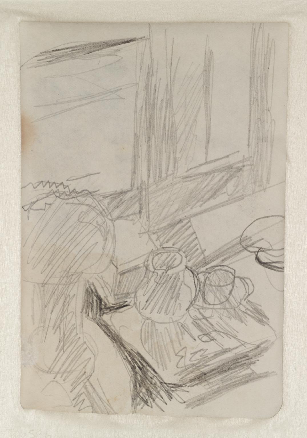 Pierre Bonnard 'Preparatory Sketch for 'The Bowl of Milk'', c.1919 © ADAGP, Paris and DACS, London 2016