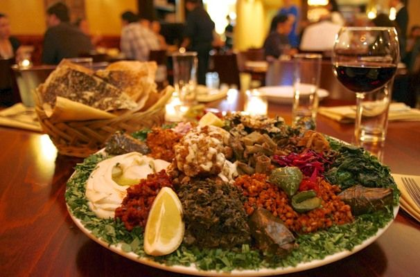 Middle Eastern Restaurant Tanoreen In Bay Ridge