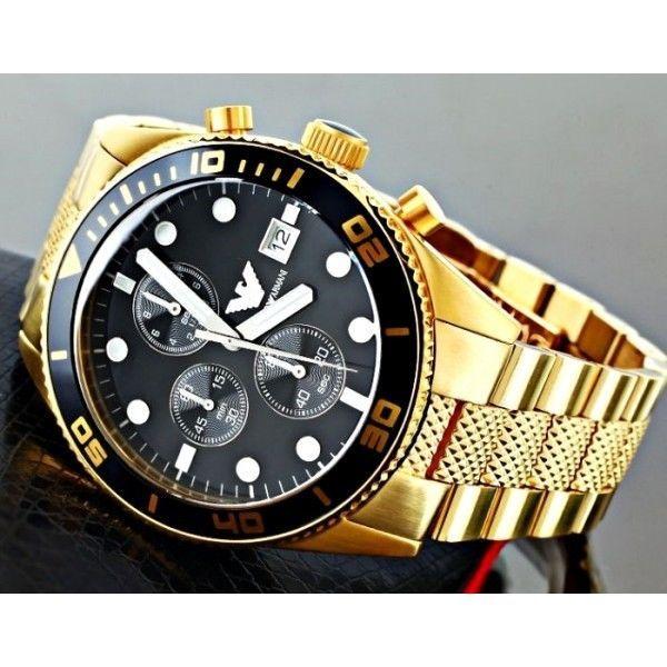Emporio GoldExecutive Class Authentic Ar Armani 5857Full Watch n8m0wN