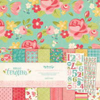 My Mind's Eye Hello Gorgeous Paper & Accessories Kit