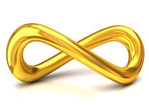 Download an image of a golden infinity symbol and place it in your 'WEALTH' area (far back left-hand corner of your living space.) Feng Shui says that this symbol will attract infinite abundance to and for you. If you do this today, 'Laugh and Grow Rich Day,' you just might find yourself laughing all the way to the bank. XOXOE  #Abundance #GoldenInfinitySymbol #Shuistrology2014