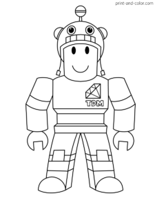 Roblox Coloring Pages Print And Color Com Cartoon Coloring Pages Cute Coloring Pages Printable Coloring Pages
