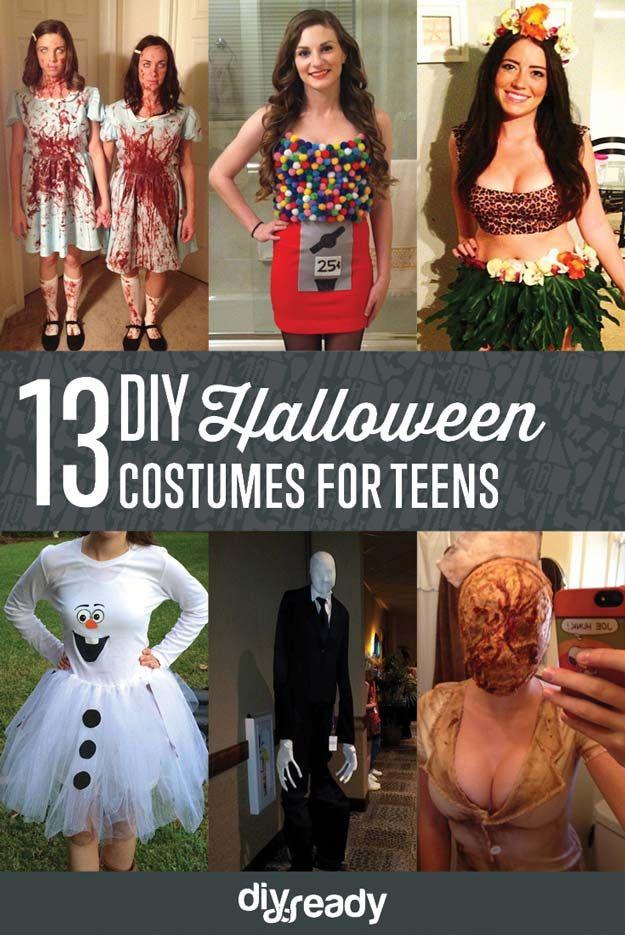 Halloween Costumes for Teens DIY Halloween, Halloween costumes and - scary diy halloween costumes