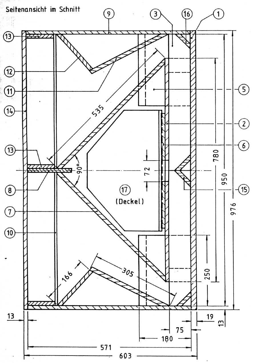 K Horn 886 1268 Speaker Design Pinterest