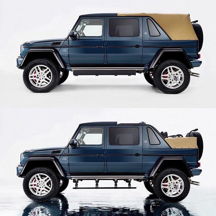 Drop Top G Wagon Long Wheel Base
