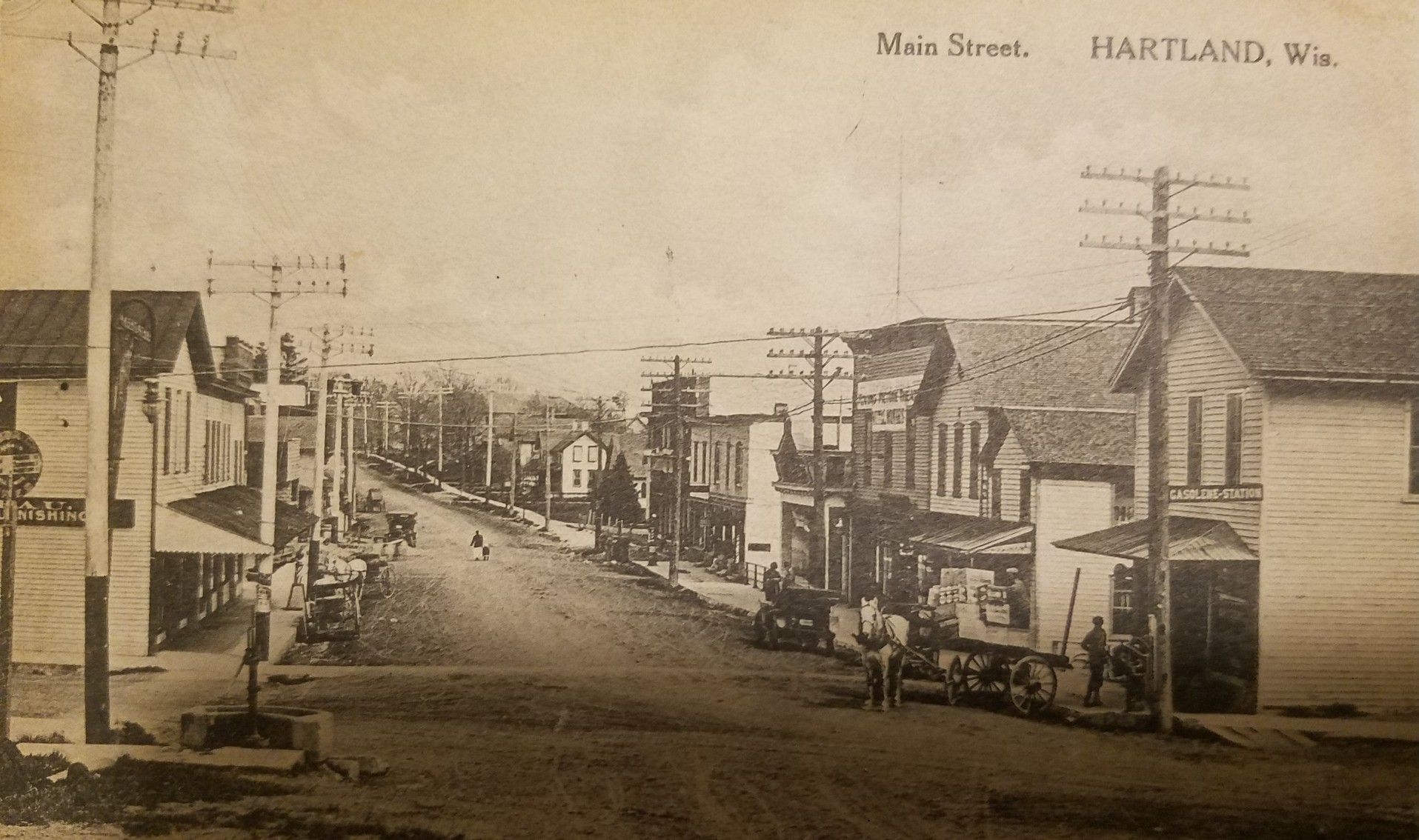 Main Street Hartland Wisconsin Hartland Wisconsin Hartland