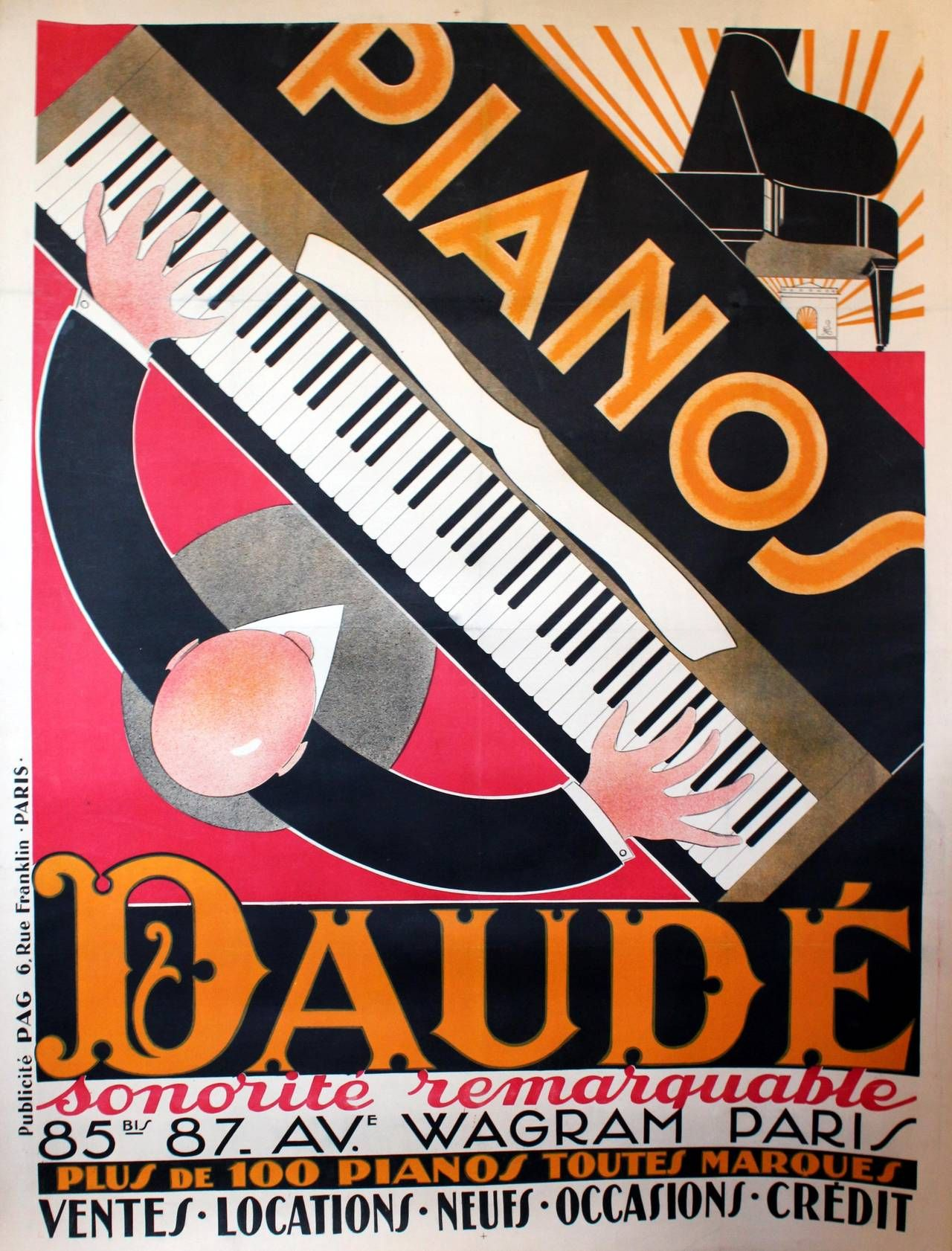 Large Art Deco Posters