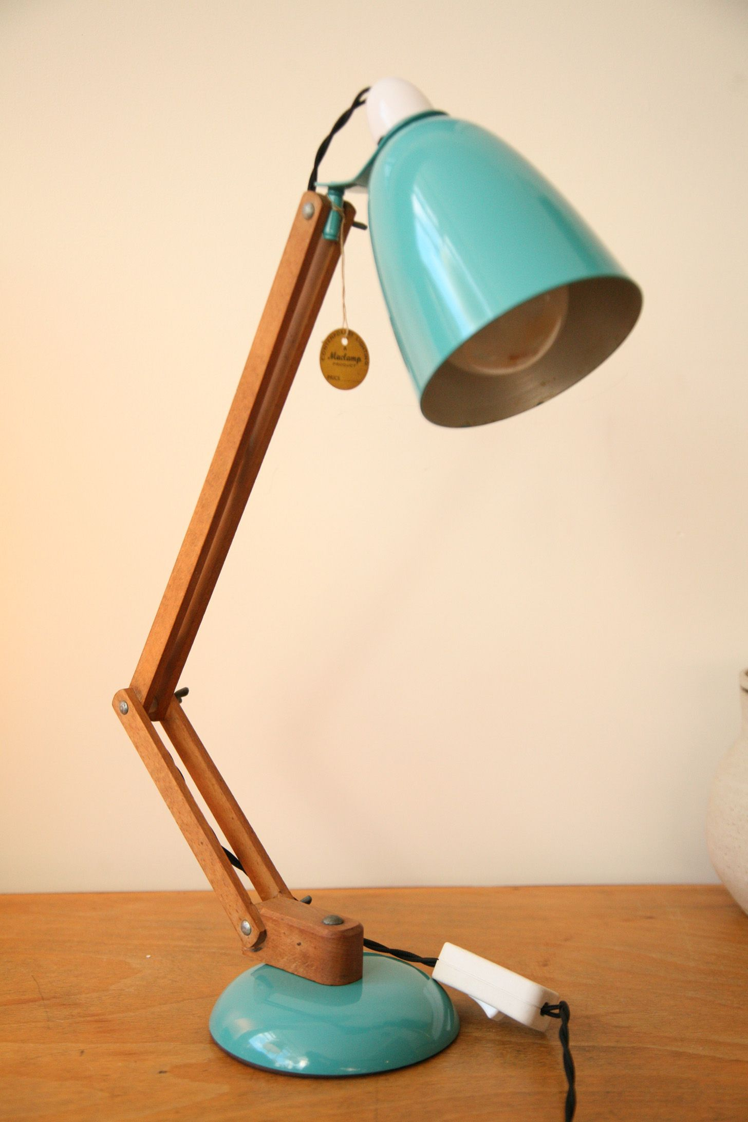 1950s Wooden Maclamp 1456 2184 Desk Lamp Diy Floor Lamp Lamp