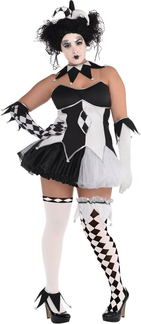 adult tricksterina costume plus size - party city | halloween