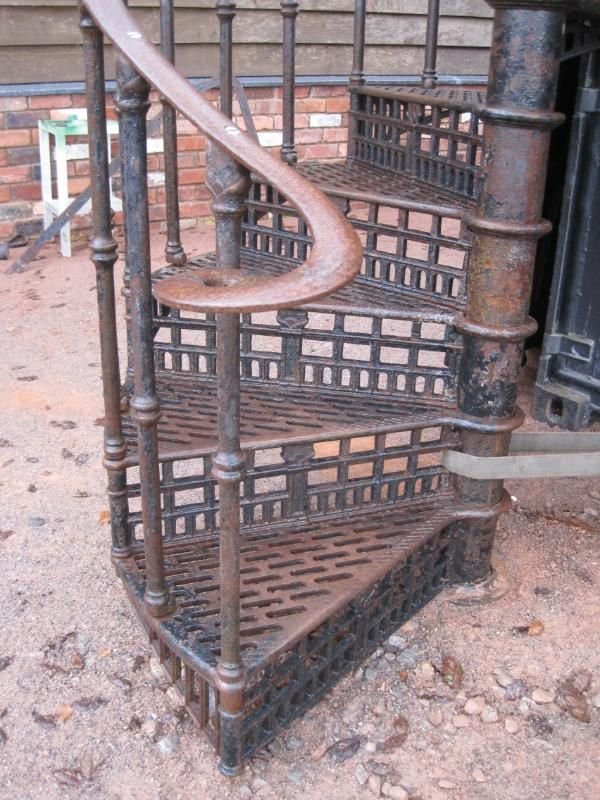 Salvaged Spiral Staircase. Hoping To Get A Quote For How Much New Railing  And Stairs Would Be... But Iu0027d So Love A Reclaimed Alternative.