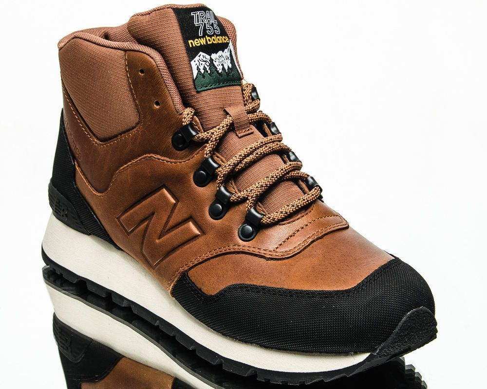 d4b8578927034 New Balance Trail 755 men lifestyle casual shoes NEW brown black cream  HL755-TA