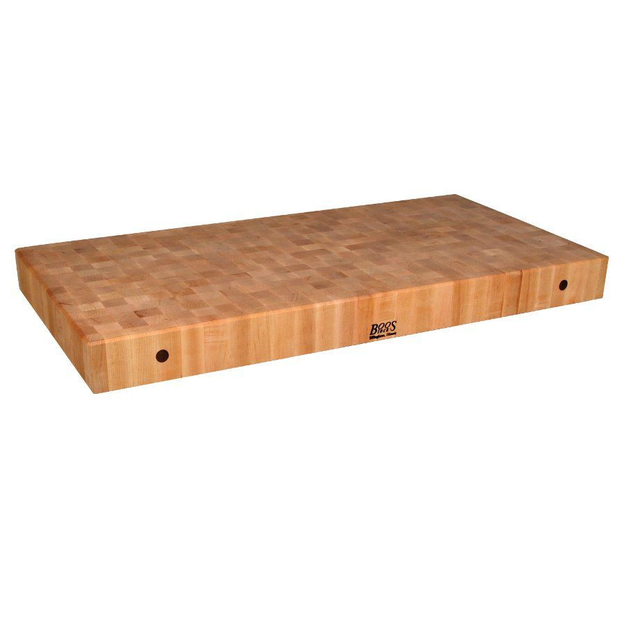 Hard Rock Maple End Grain Butcher Block Counter   2.25 Inch John Boos Via @ Butcher