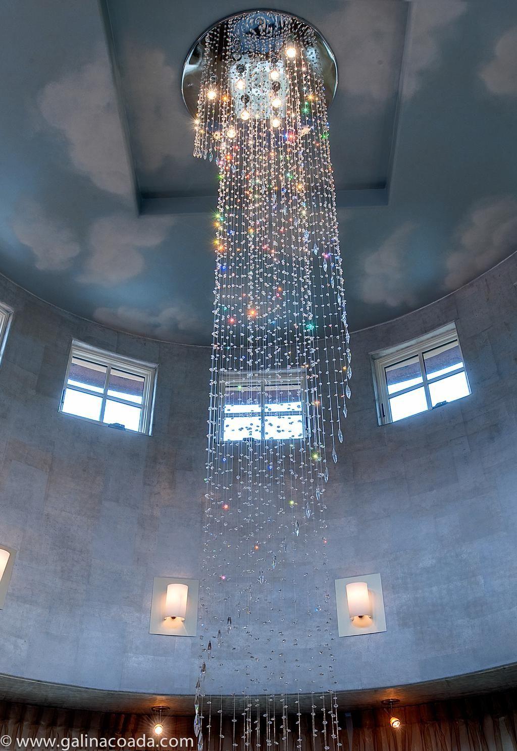 20 ft custom chandelier