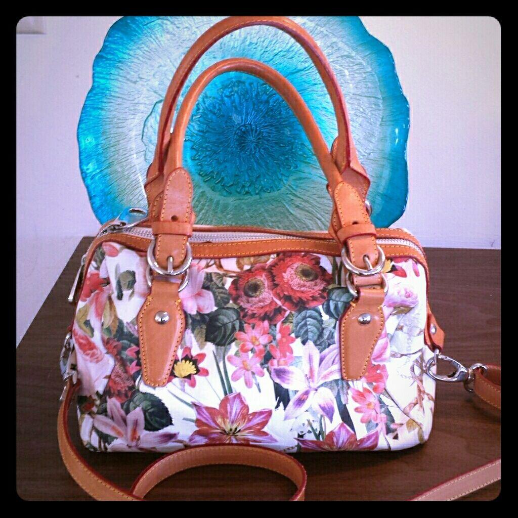 New Cavalcanti Fl Leather Bag