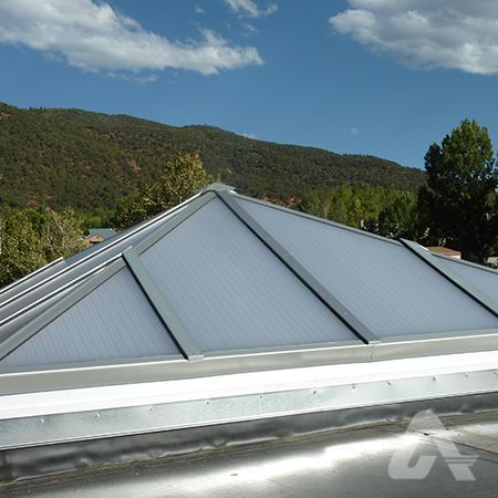 Skylight exterior view | Skylight, Roof solar panel, Solar ...