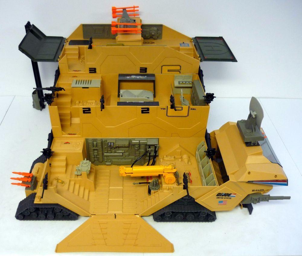 GI Joe Mobile Command Center SEARCH LIGHT spotlight Vtg part 1987 g.i