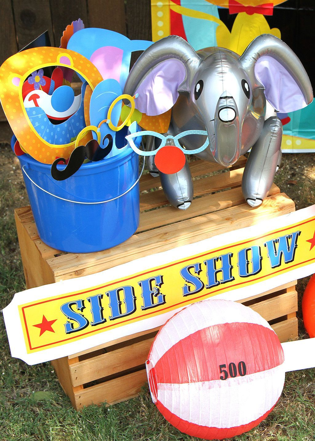 Circus party ideas carnival party ideas at birthday in a