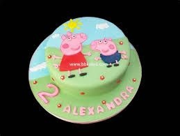 peppa and george cake - Google Search