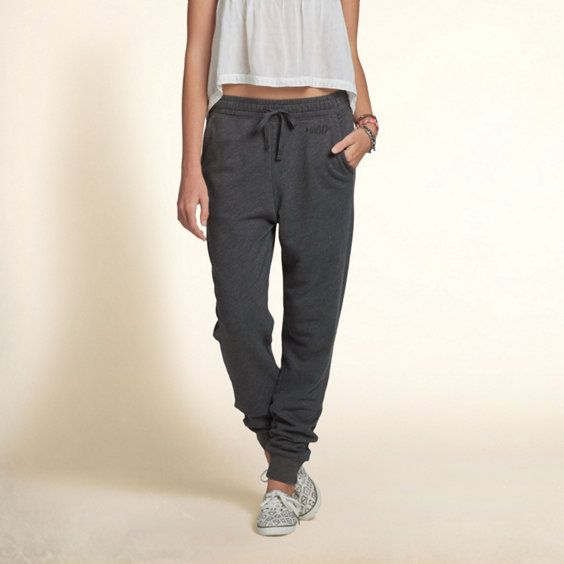 hollister jogger pants