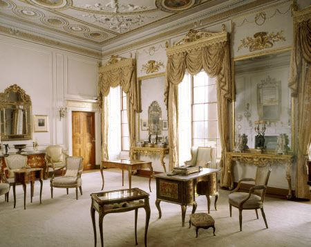 The Drawing Room At Berrington Hall Herefordshire