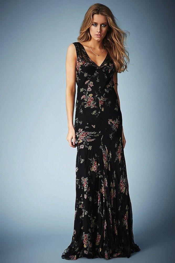 Vestido largo para boda. Kate Moss for topshop. | Mujeres, moda ...