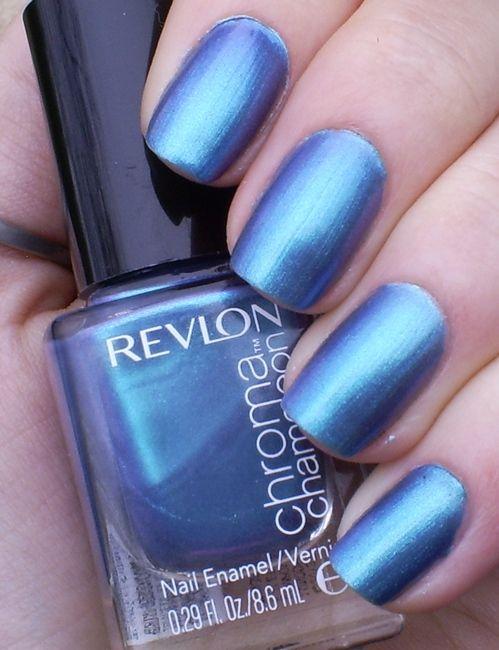 Revlon: Aquamarine Swatched on one nail $4 | polish iso | Pinterest ...