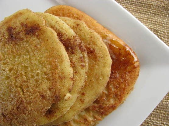 Breakfast call! Snickerdoodle Pancakes (Gluten/Dairy/Soy/Grain Free) - one word: delicious!