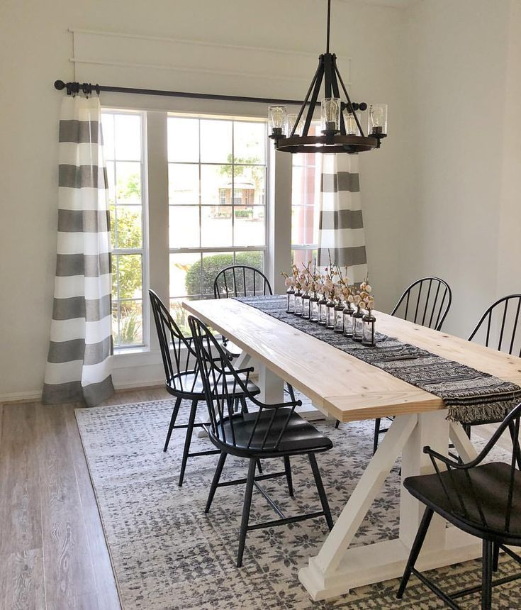 Did yall see the dining table we designed and built for