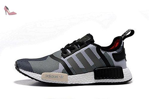 Adidas originali nmd r1 correndo formatori scarpe femminili (stati uniti)