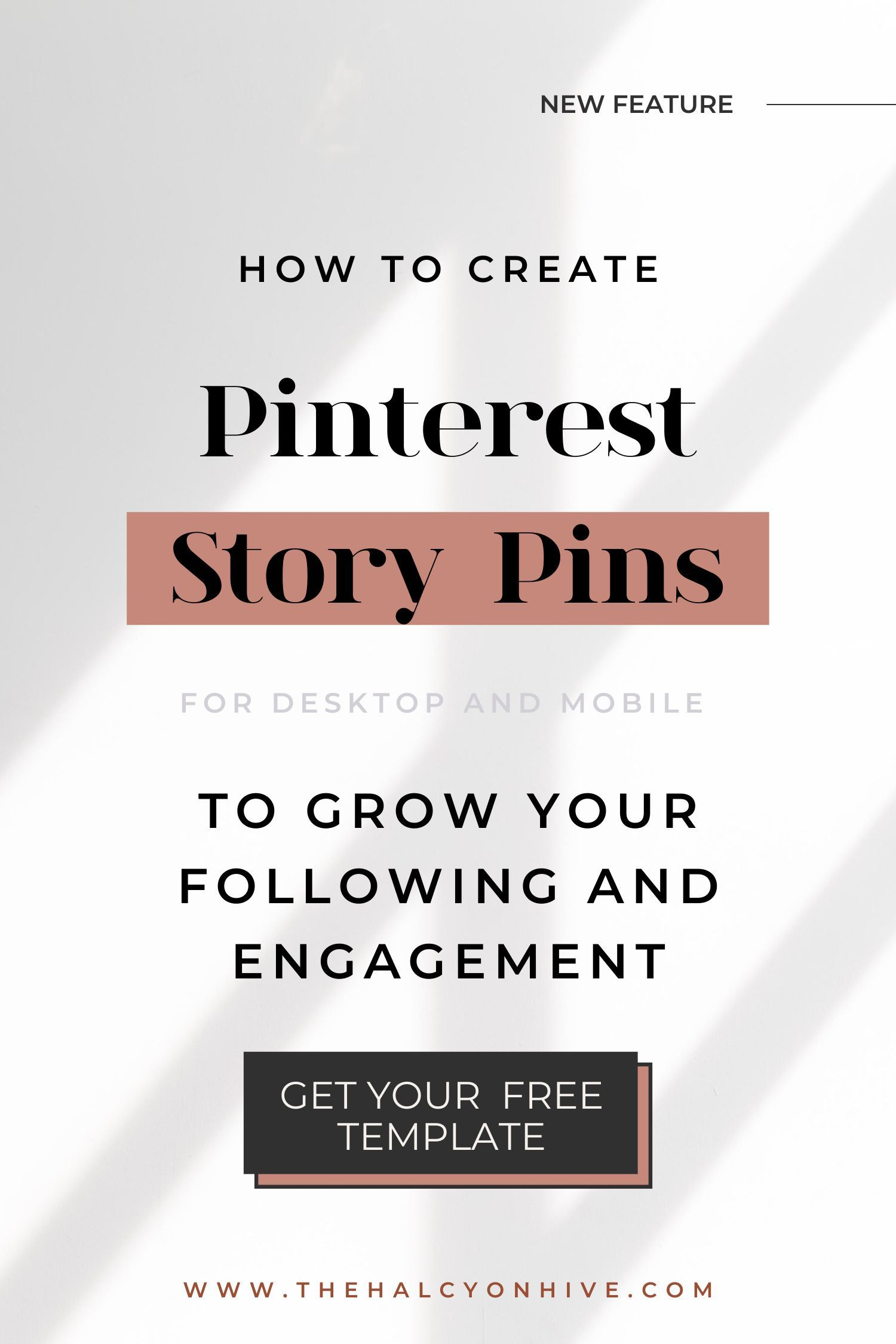 Watch the tutorial to learn how to create engaging pins