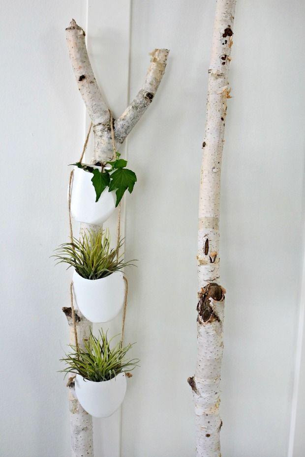 Make Your Own Modern DIY Hanging Planter | Hanging plant