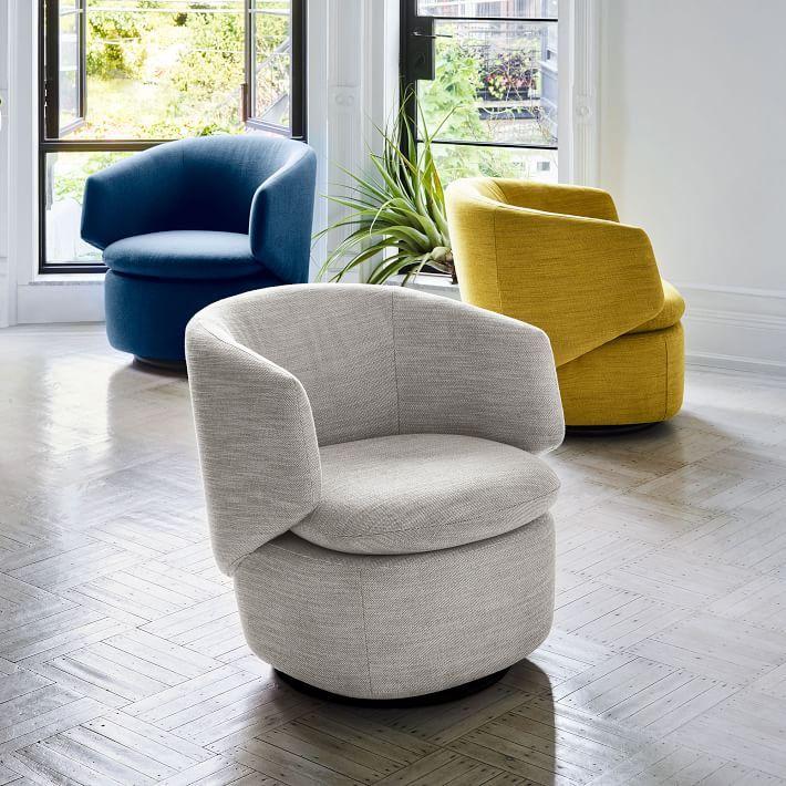 Crescent Swivel Chair Crescent Swivel Chair