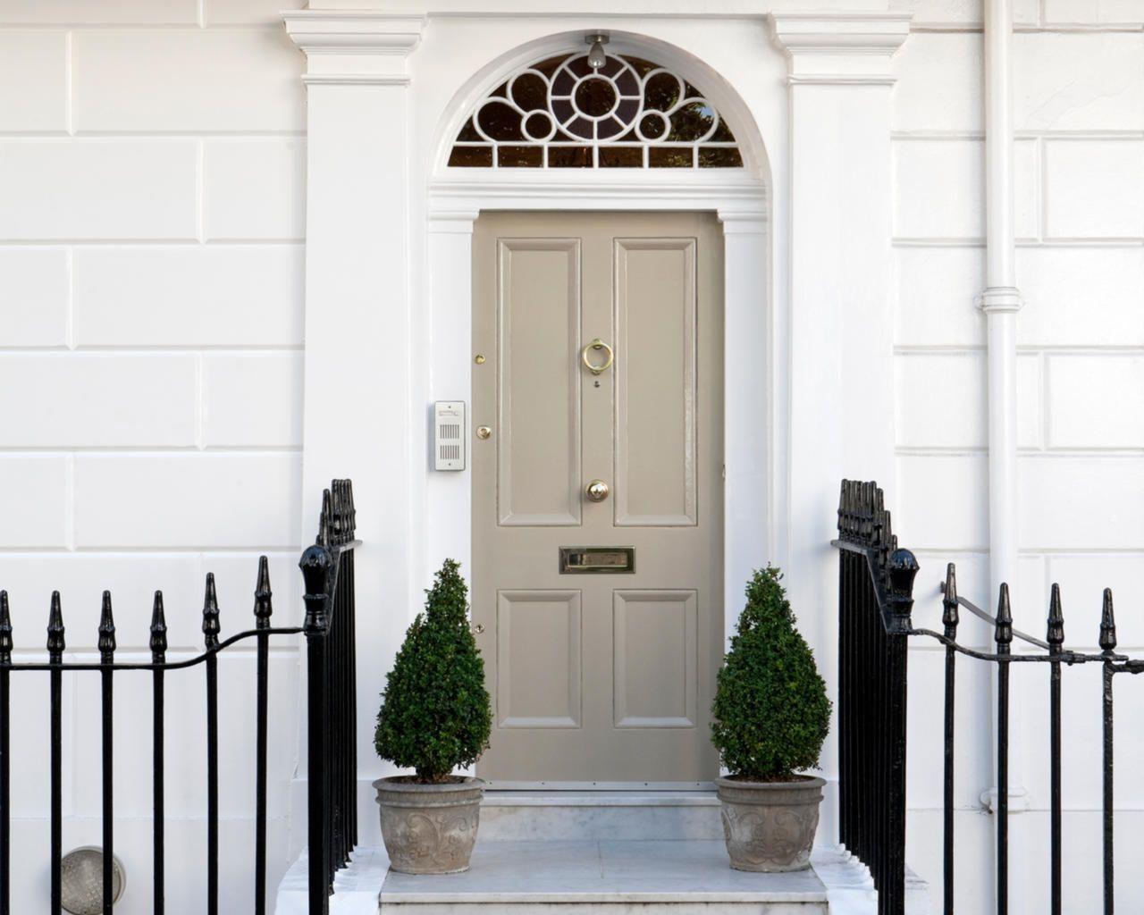 английская дверь