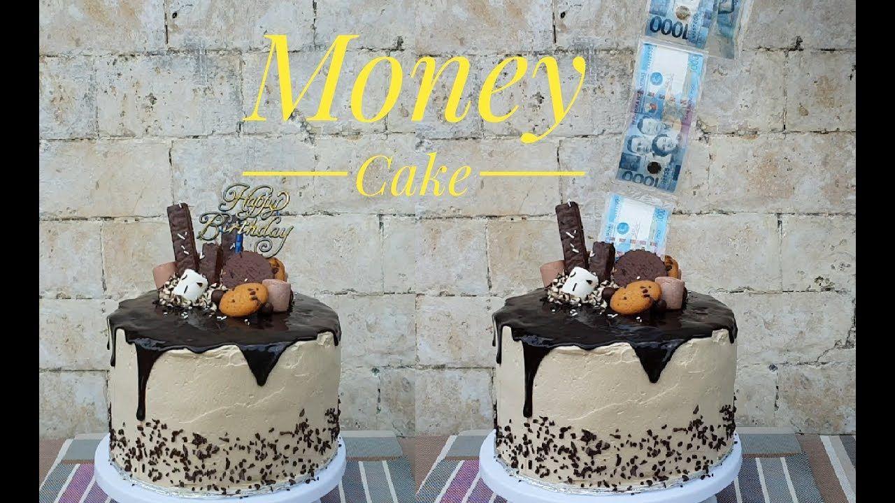 Money cake money pulling cake surprise cake youtube