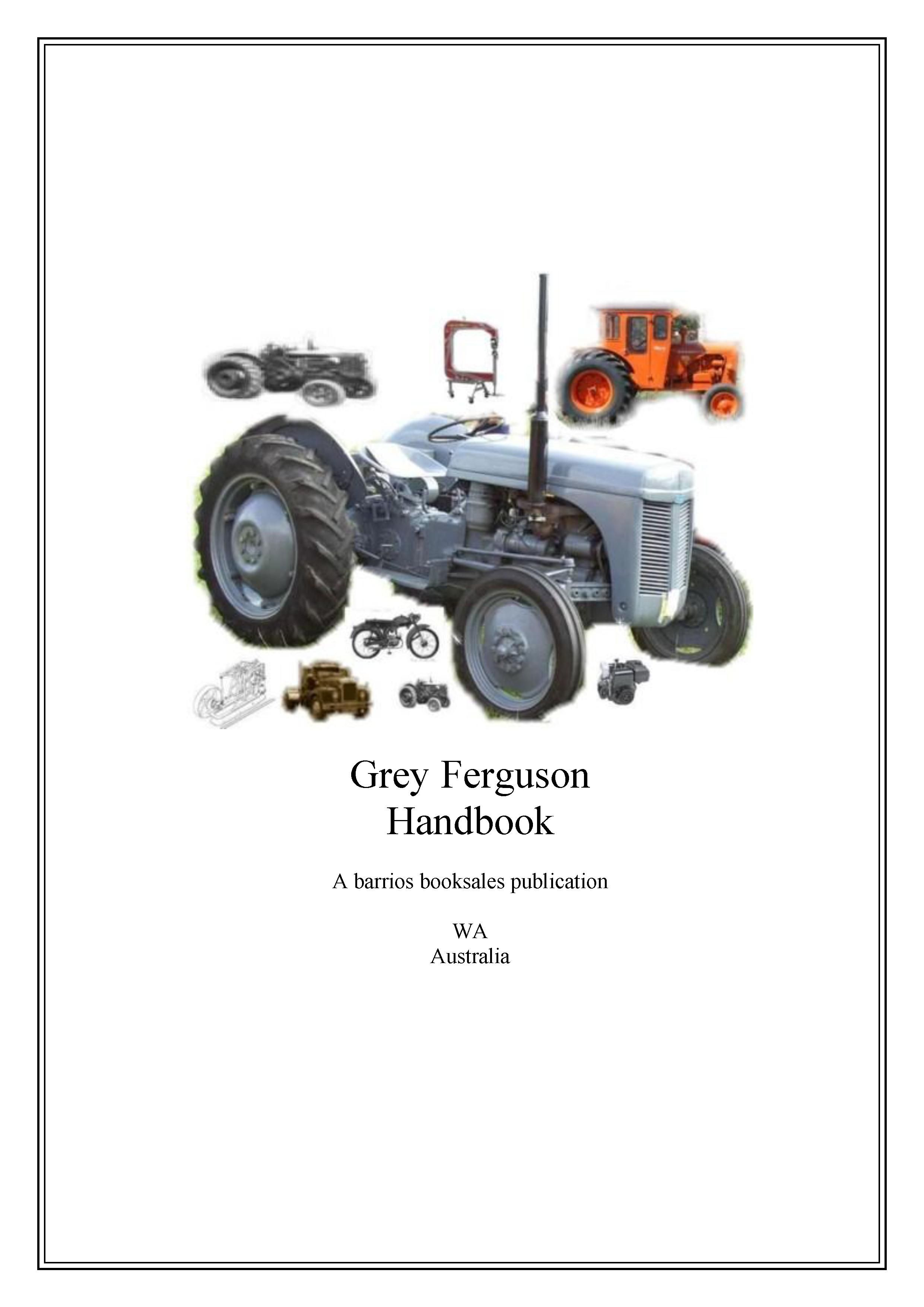 Pin by Tractor manuals downunder on Ferguson Massey Ferguson manuals to  download | Pinterest