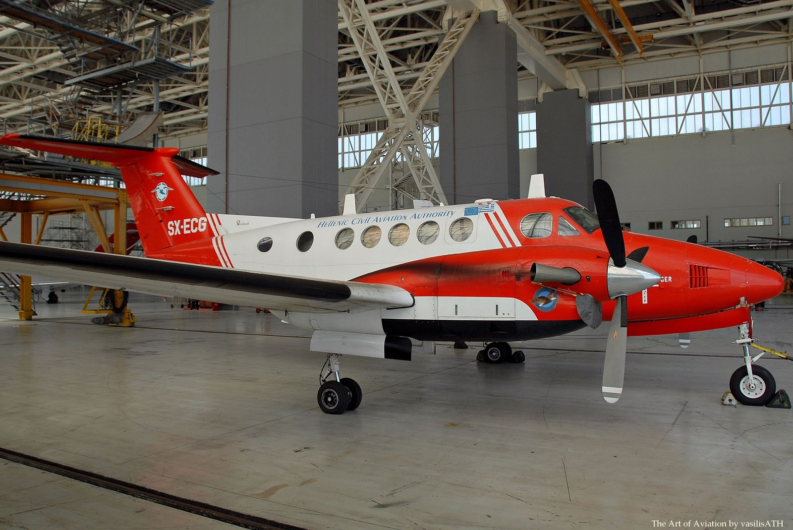 Hellenic Civil Aviation Authority Beechcraft 200 Super