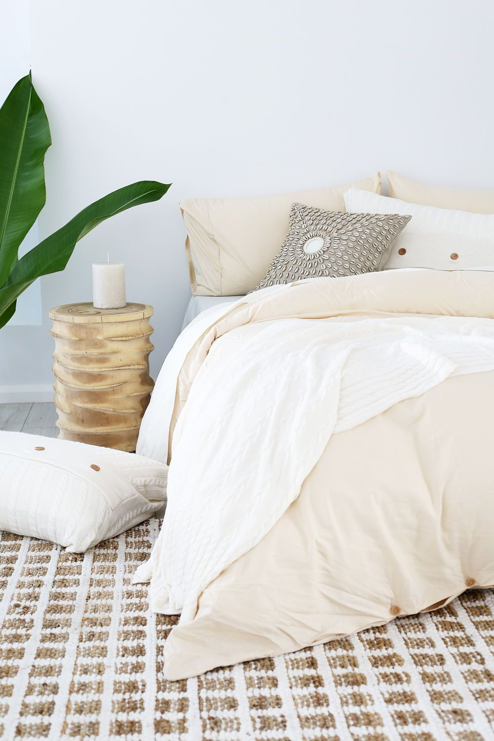 Our Latte Bedding Blends Perfectly With Most Furniture And Wall