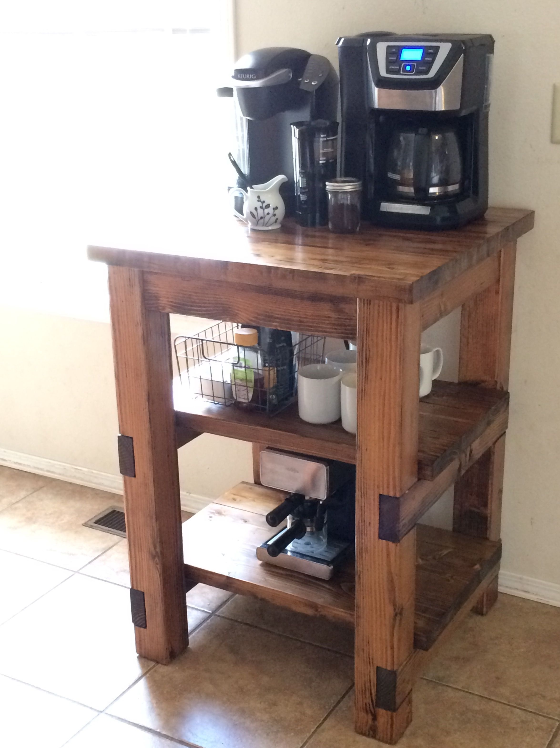 Ana White | Coffee Bar - DIY Projects | Dining Room Tutorials ...