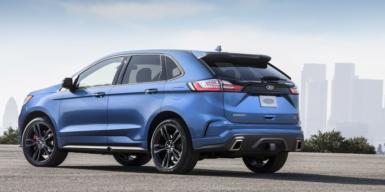 The 335 Hp 2019 Ford Edge St Is A Thing Now Ford Edge Ford Suv 2019 Ford