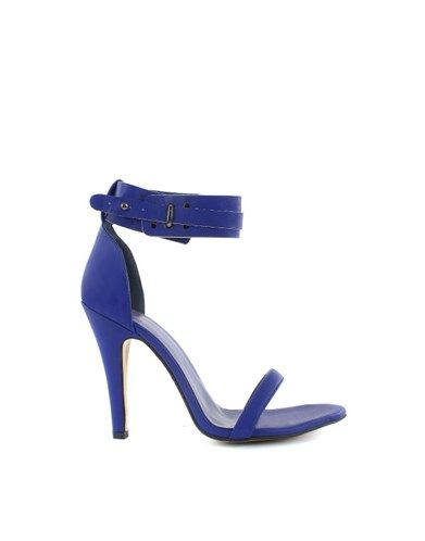 A sexy strap around the ankle, which helps keep the foot in the shoe