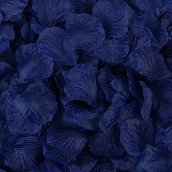 Navy Blue Rose Petals Silk Rose Petals Diy Aisle Runner Rose