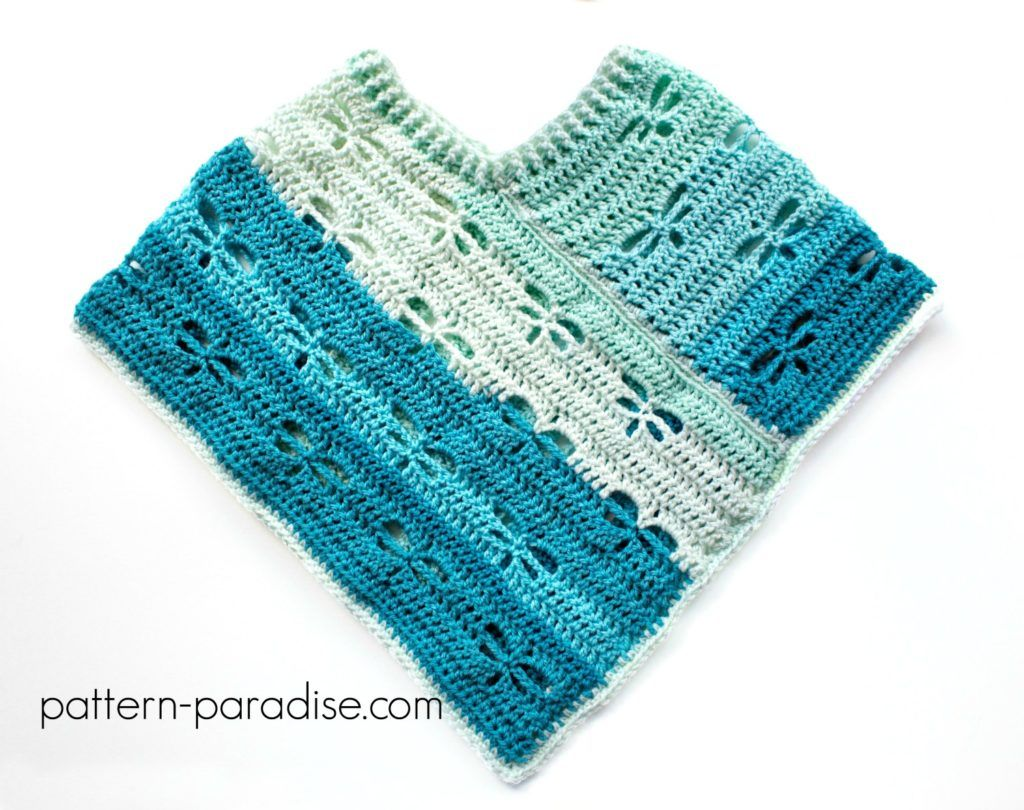 Free crochet pattern dragonfly poncho crochet ponchos free crochet pattern dragonfly poncho bankloansurffo Images